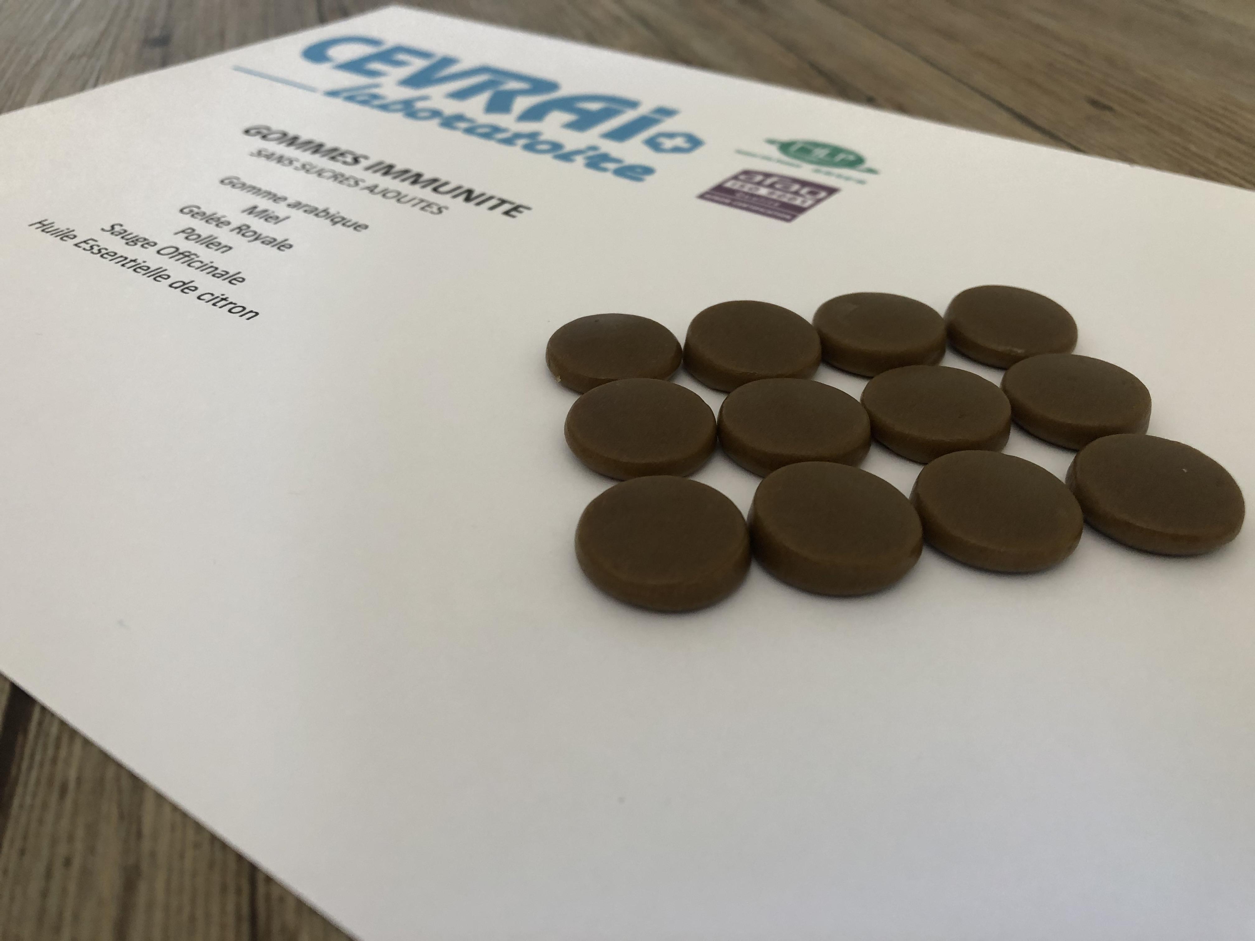 Laboratoire CEVRAI fabrication gommes gummies fonctionnelles vitamines