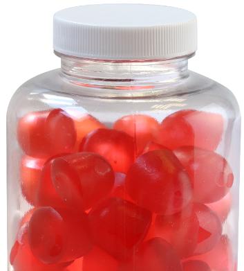 Laboratoire CEVRAI - gommes gummies igloo fruit pectin red